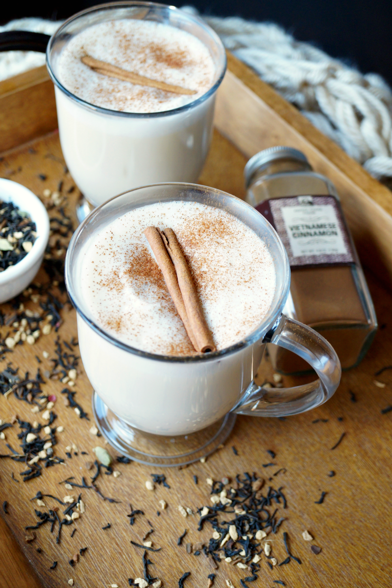 the easiest chai tea latte | The Baking Fairy