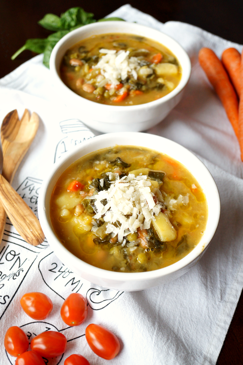 minestrone soup | The Baking Fairy