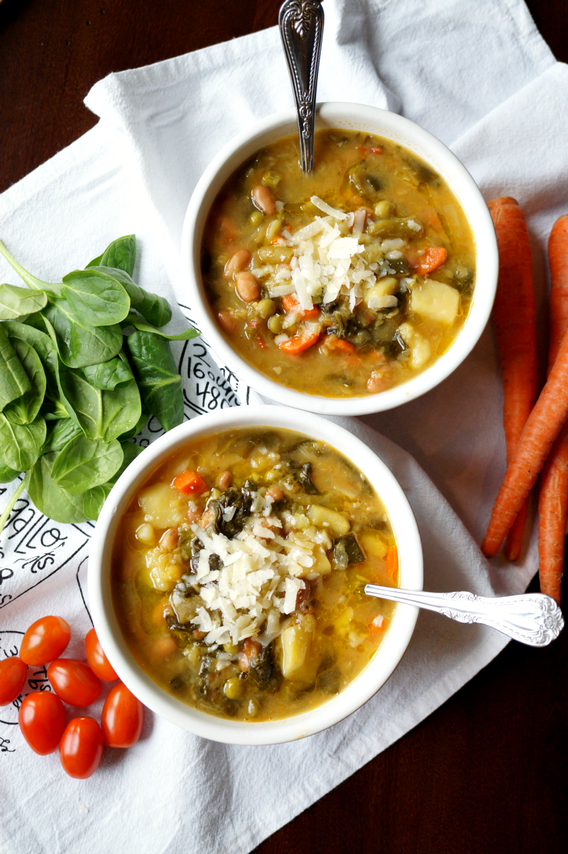 minestone soup | The Baking Fairy