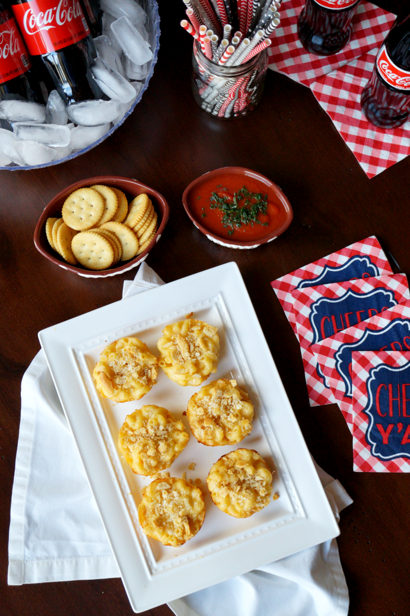 mac & cheese bites | The Baking Fairy