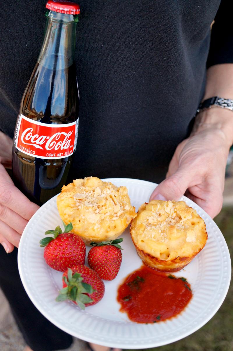 mac & cheese bites   The Baking Fairy #BowlTimeSnacks #ad