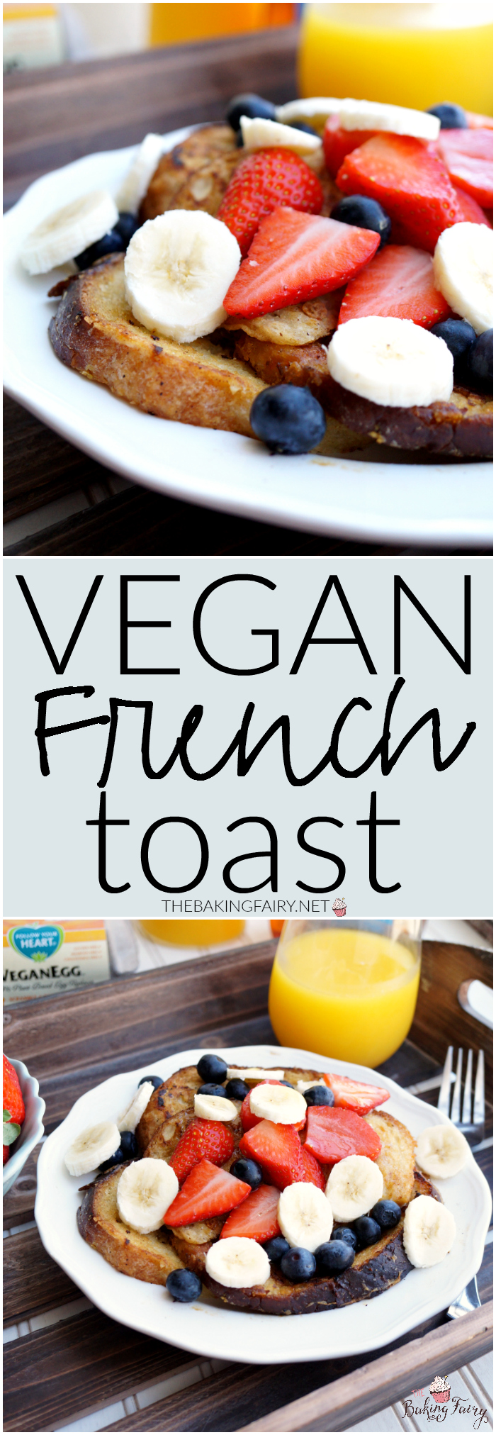 vegan french toast   The Baking Fairy