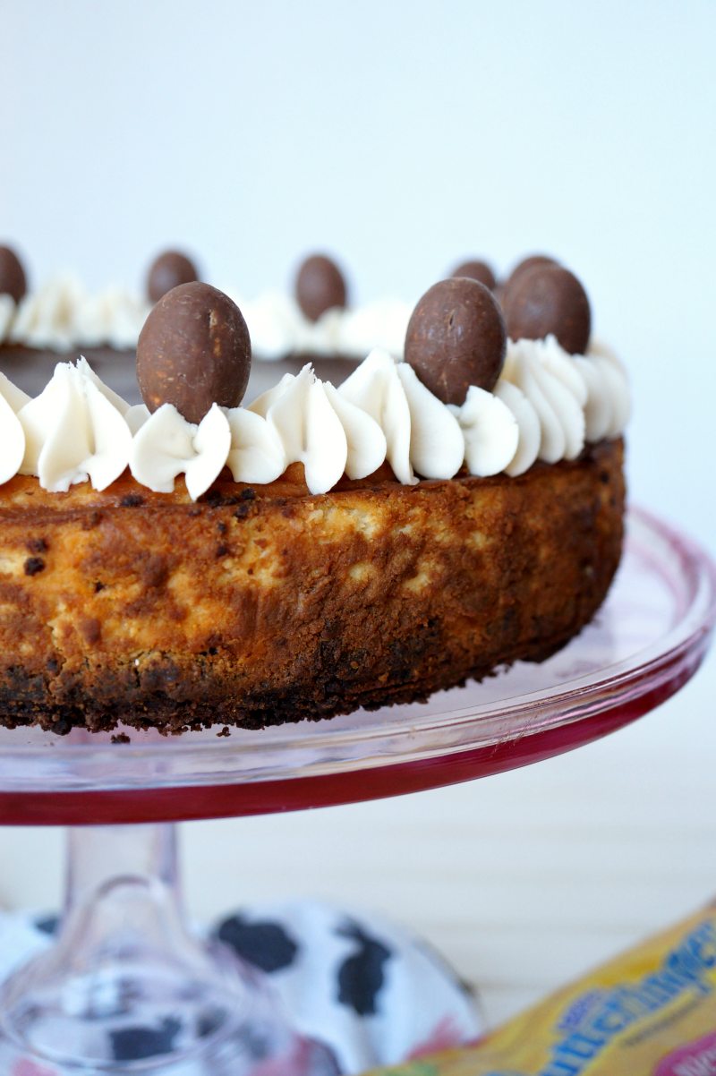 BUTTERFINGER® cheesecake | The Baking Fairy #Eggcellent Treats #ad