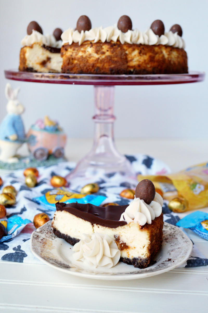 BUTTERFINGER® cheesecake | The Baking Fairy #EggcellentTreats #ad