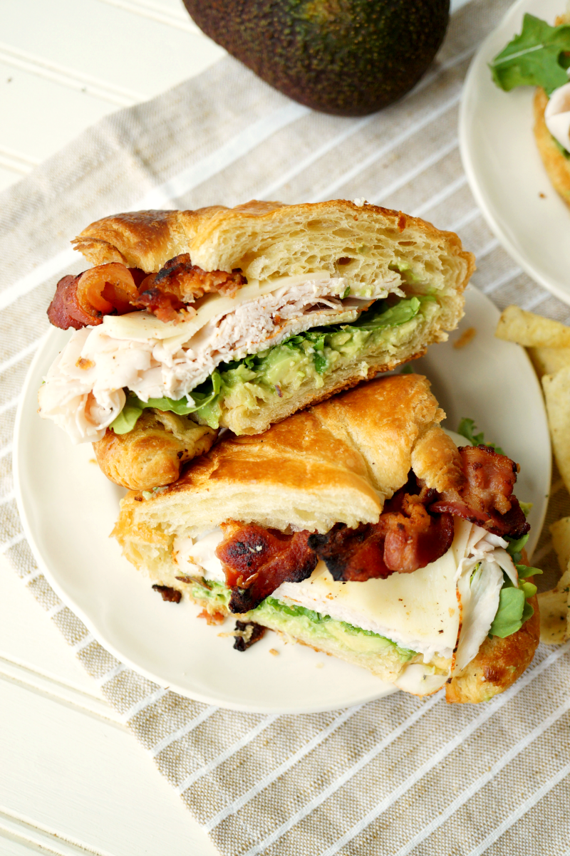 california club sandwich | The Baking Fairy