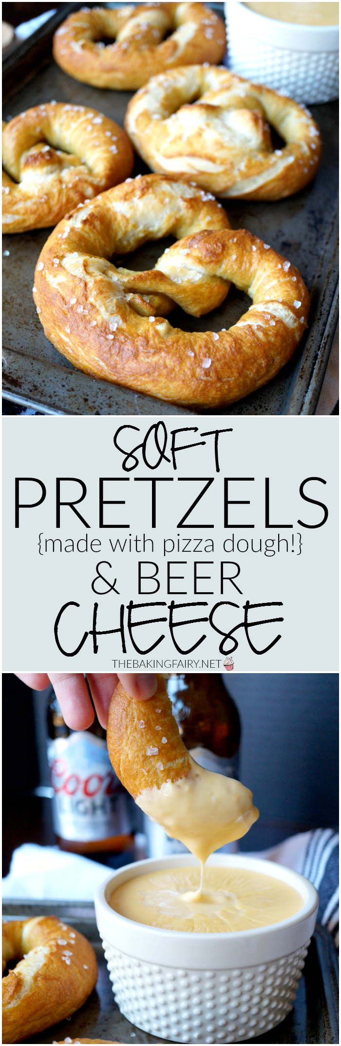 soft pretzels with beer cheese   The Baking Fairy