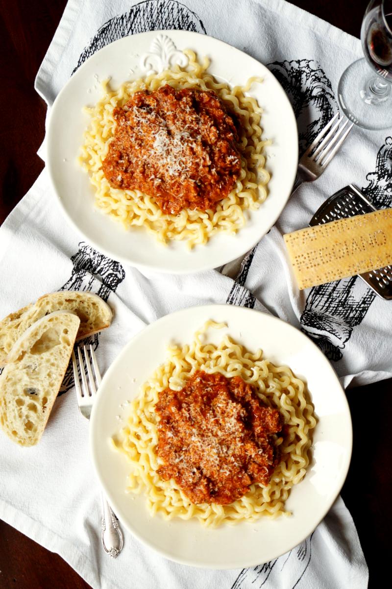 italian bolognese sauce | The Baking Fairy
