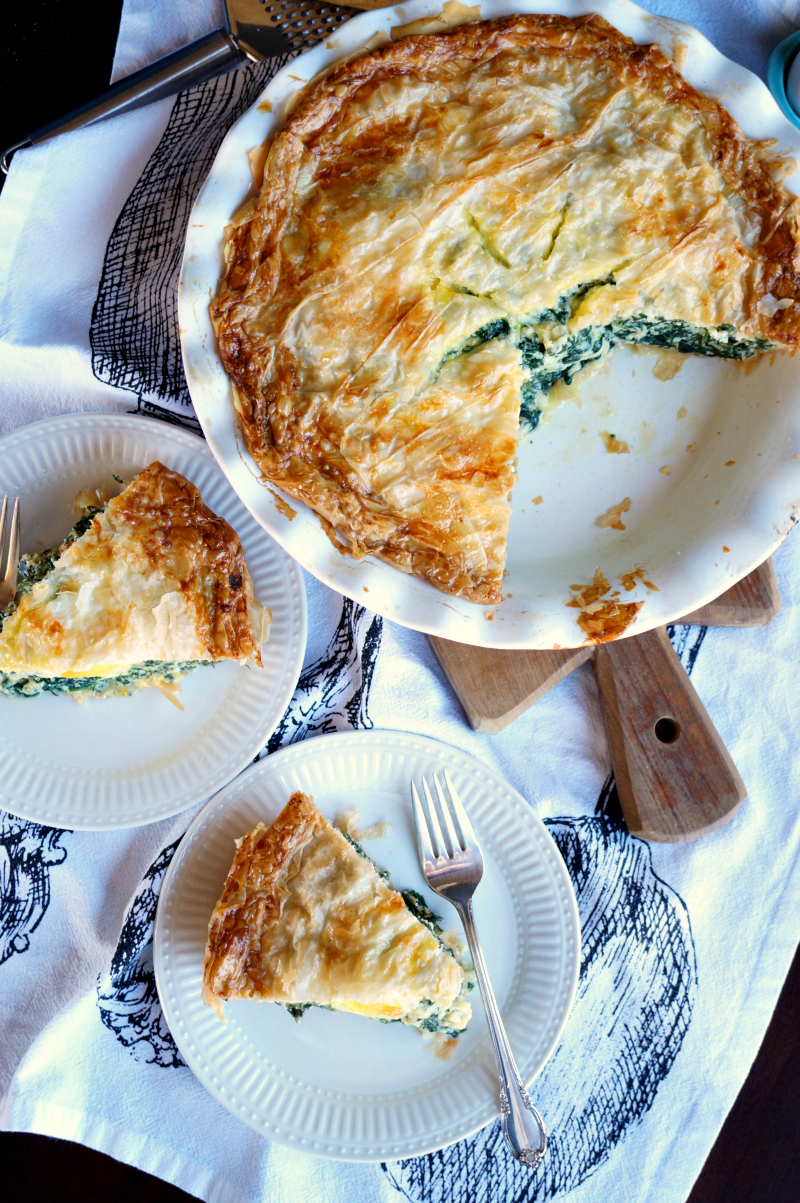 torta_patorta pasqualina {italian spinach & ricotta pie} | The Baking Fairyqualina03