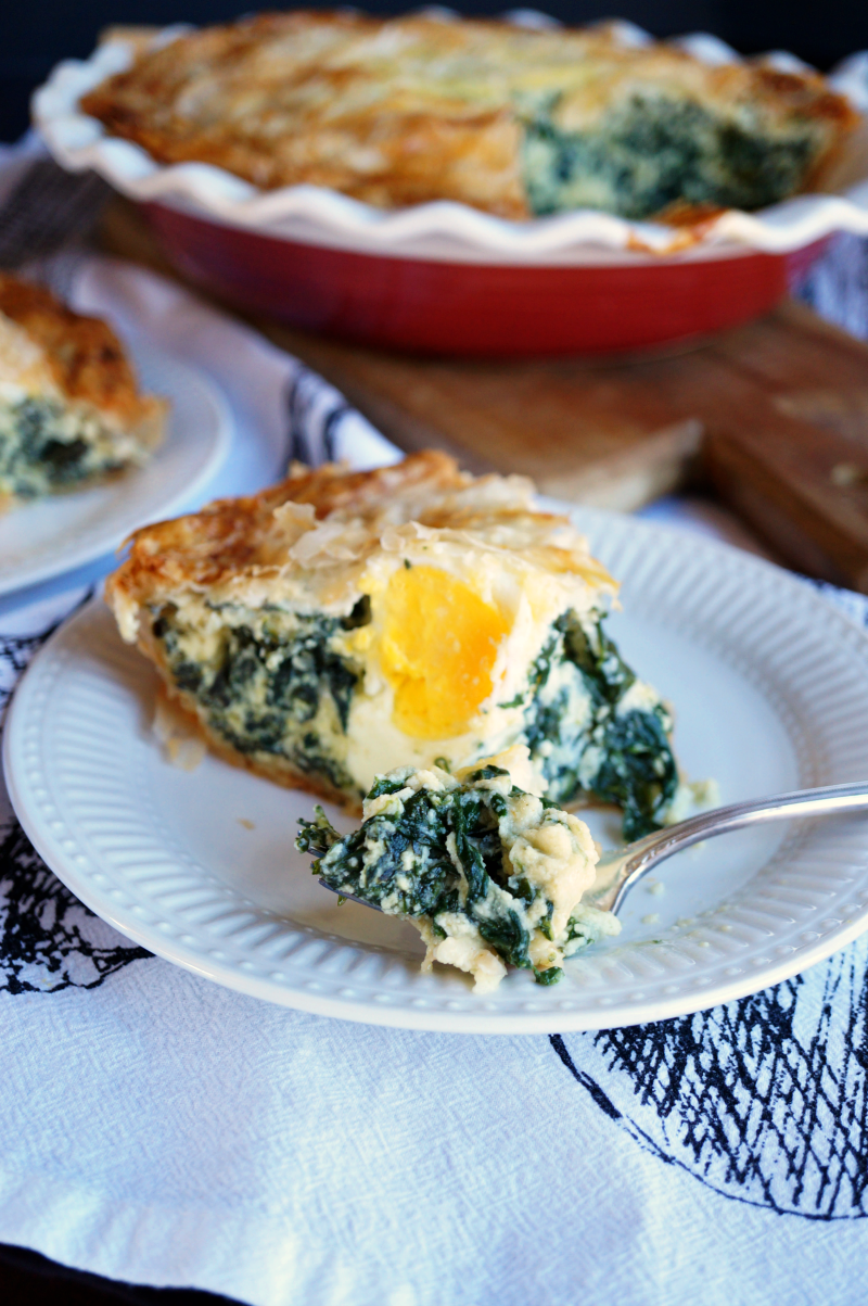 torta pasqualina {italian spinach & ricotta pie} | The Baking Fairy