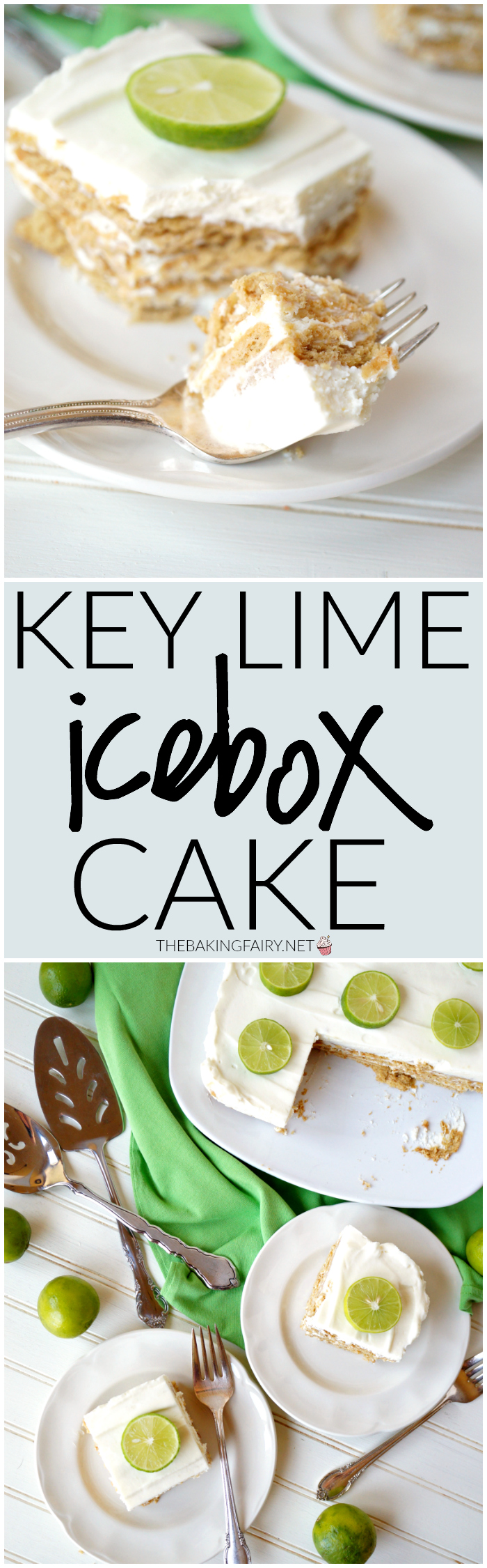 Key West & key lime icebox cake | The Baking Fairy