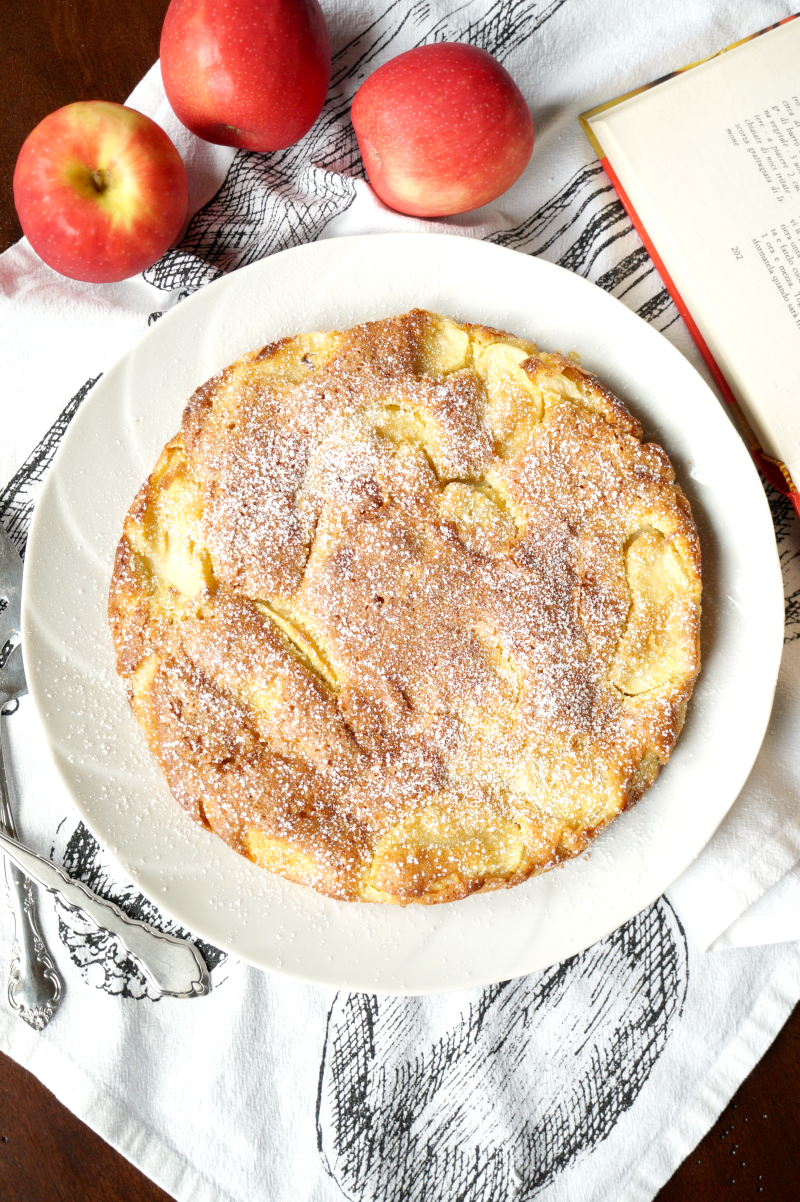 italian apple cake | The Baking Fairy