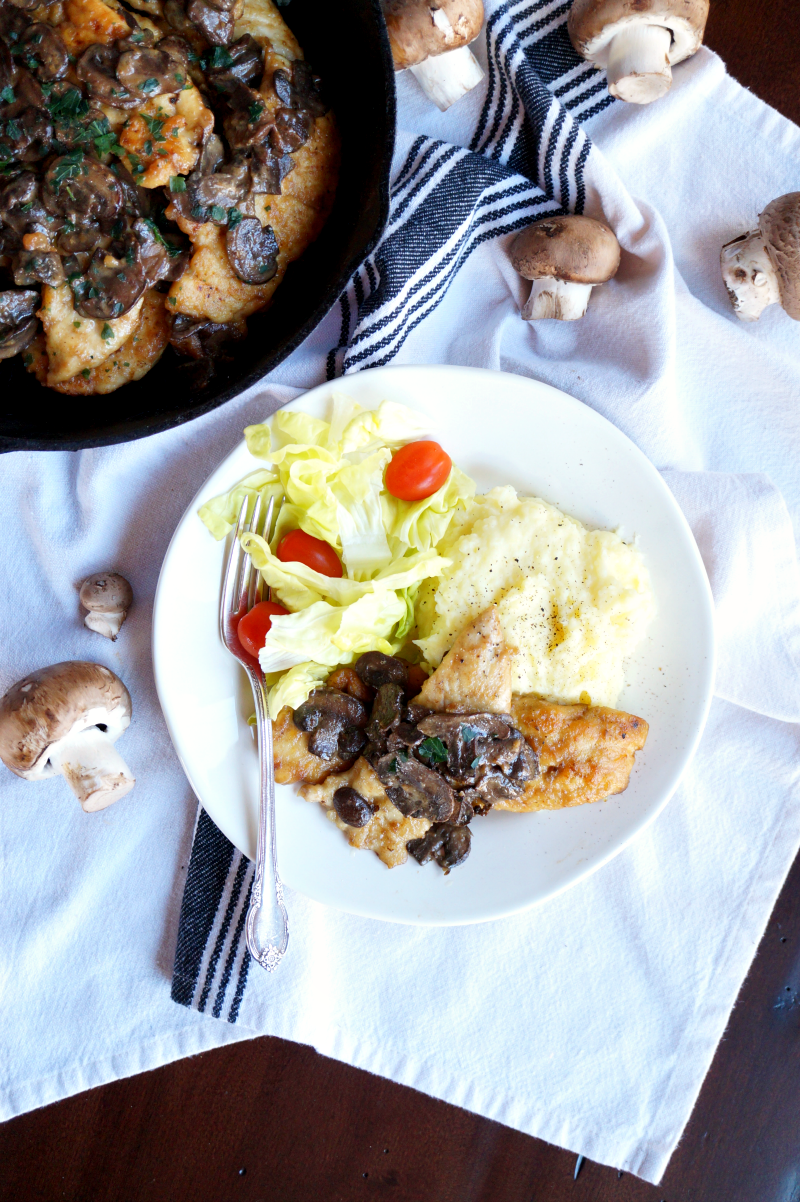 chicken marsala | The Baking Fairy
