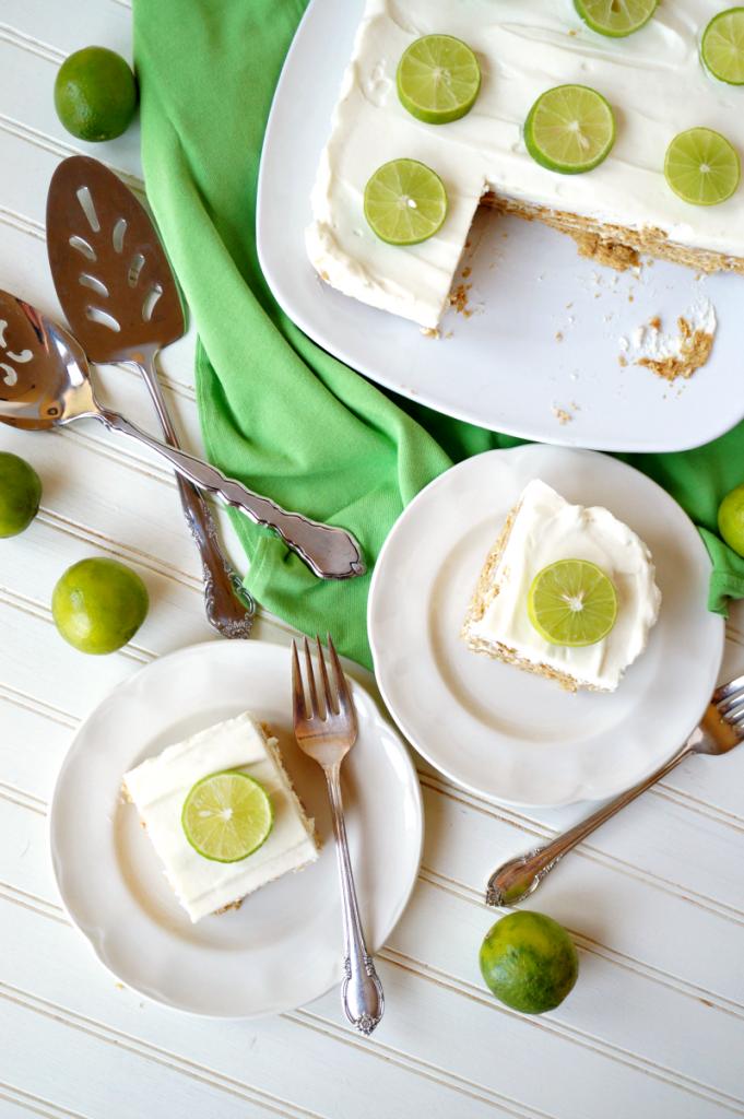 Key West & key lime icebox cake