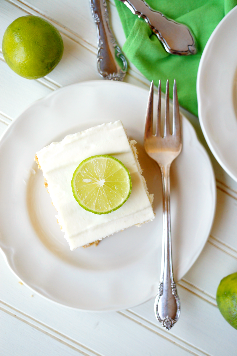 key lime icebox cake | The Baking Fairy