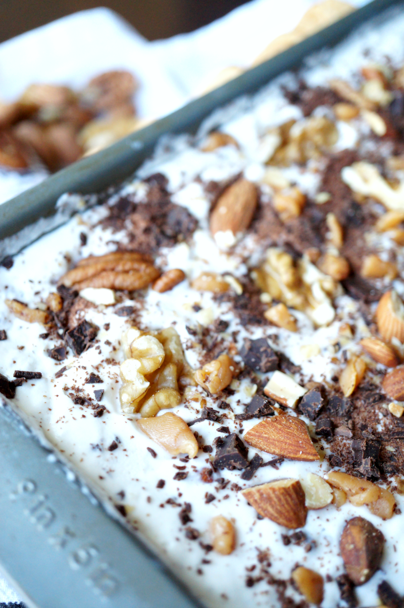 homemade moo-llenium crunch ice cream | The Baking Fairy
