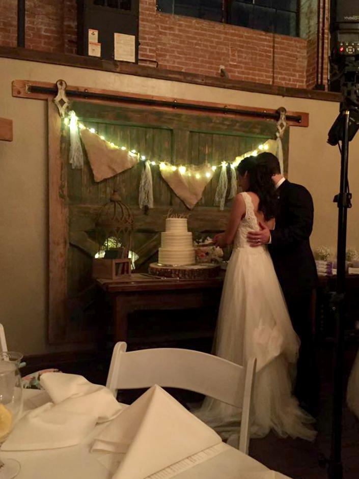 simple rustic wedding cake   The Baking Fairy