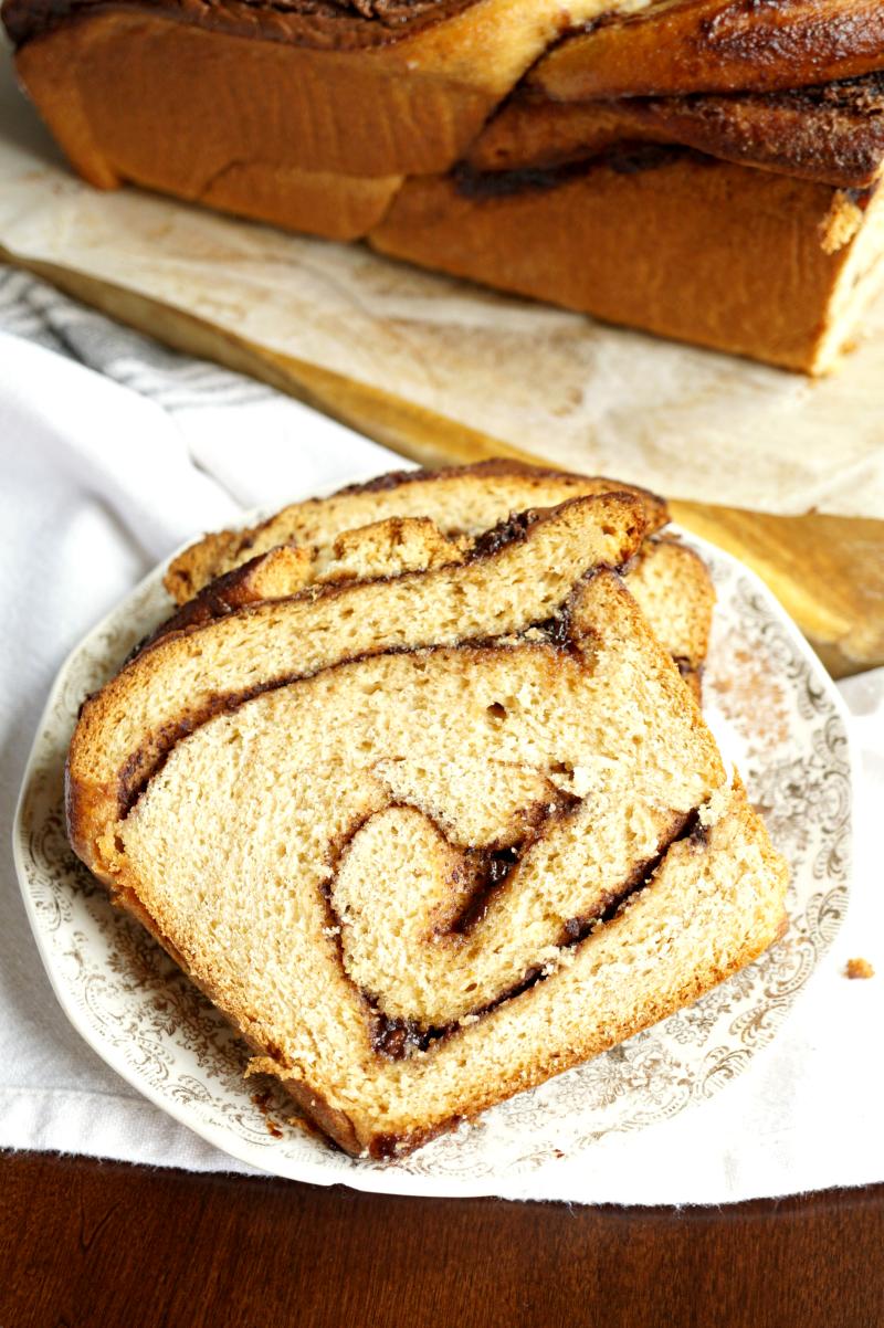 whole wheat Nutella braid | The Baking Fairy