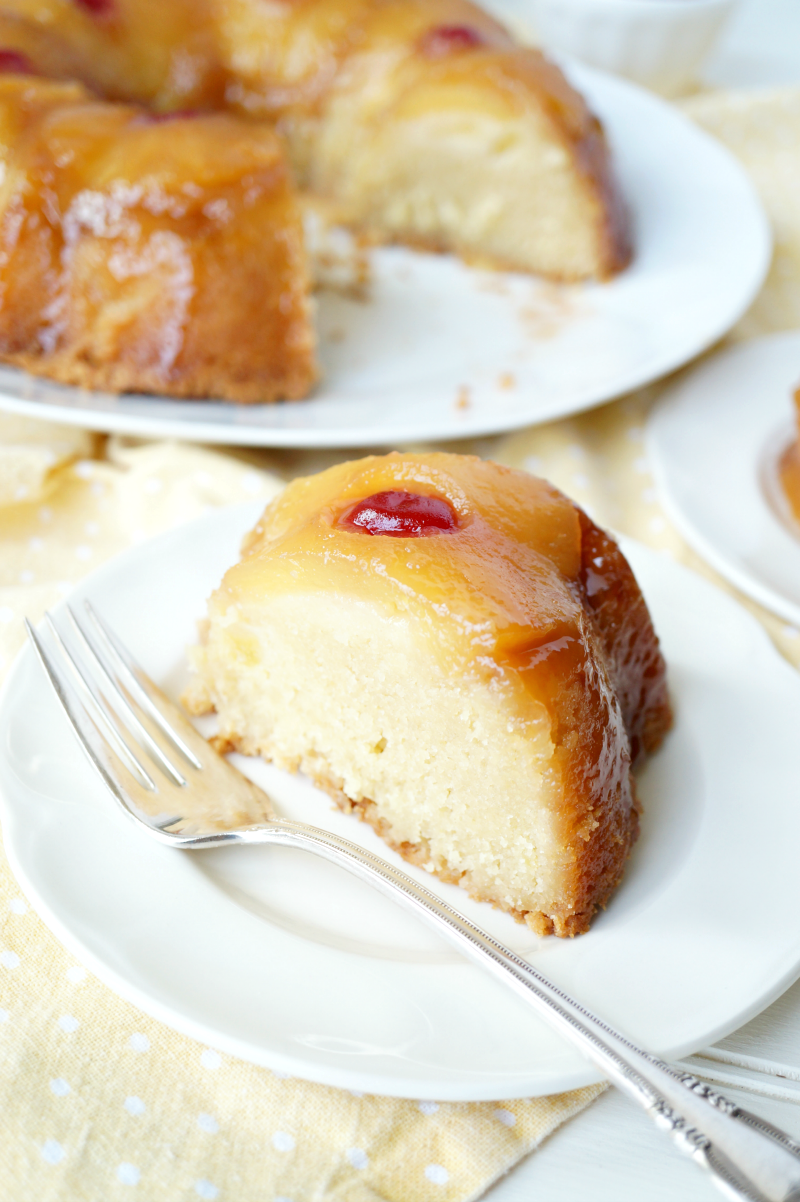 pineapple upside down bundt cake | The Baking Fairy