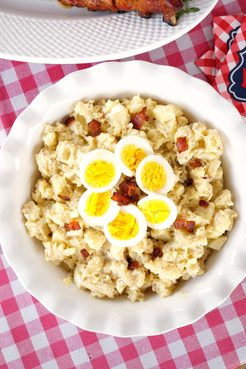 bacon and egg potato salad | The Baking Fairy