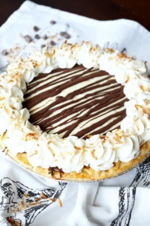 Chocolate Coconut Cream Pie The Baking Fairy