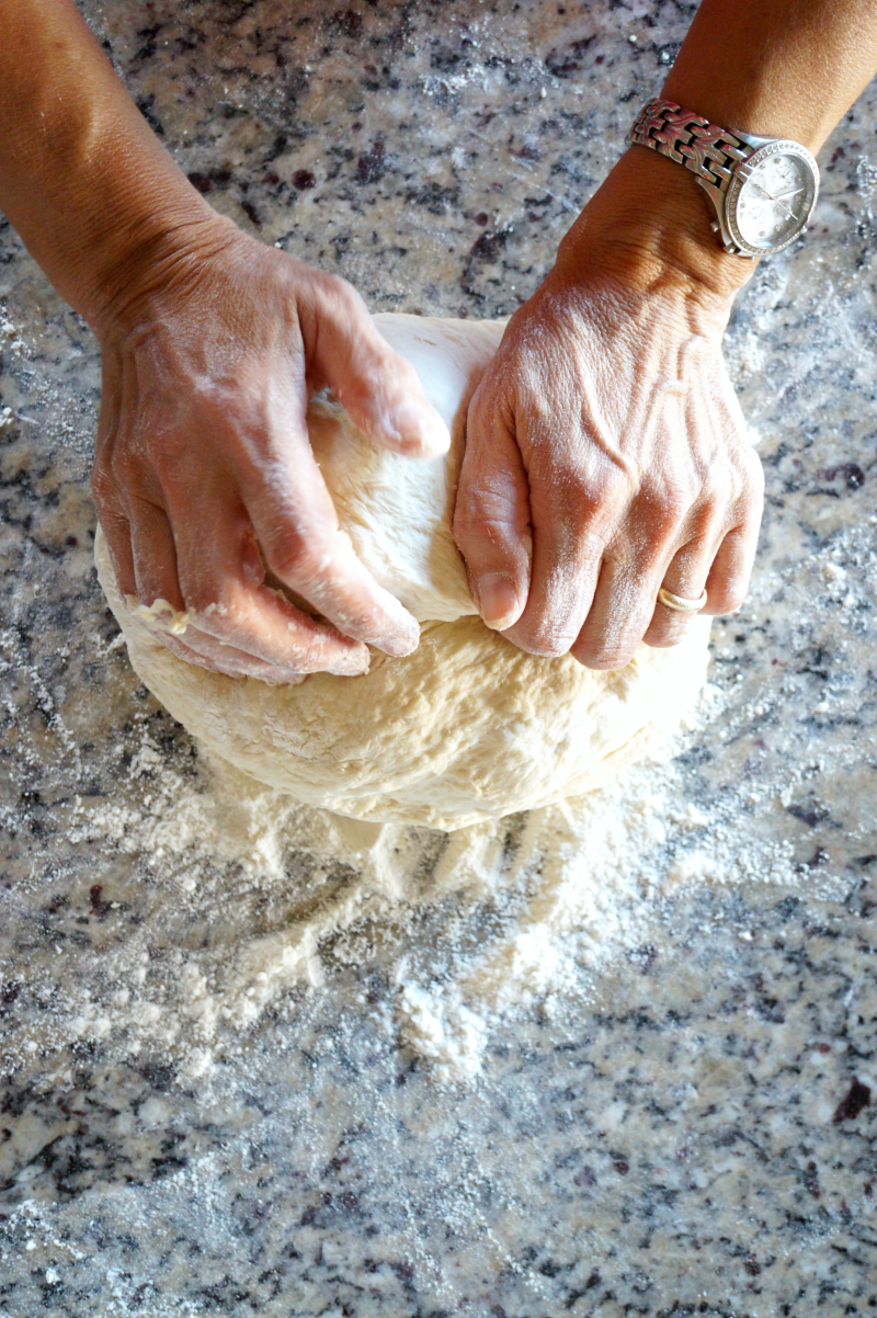 homemade pizza dough | The Baking Fairy