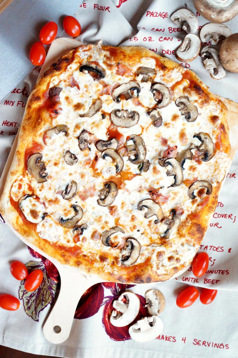 homemade pizza dough   The Baking Fairy