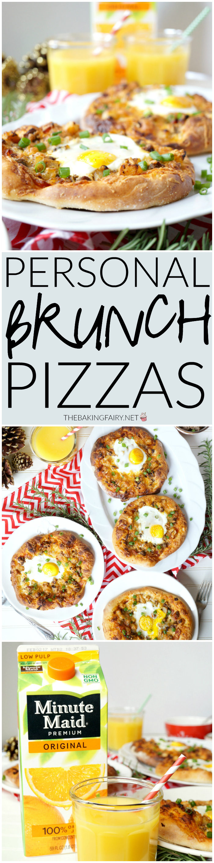 personal brunch pizzas | The Baking Fairy