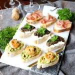 holiday crostini trio | The Baking Fairy