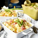 prosciutto & asparagus orecchiette | The Baking Fairy