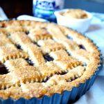 peanut butter & jelly crostata | The Baking Fairy