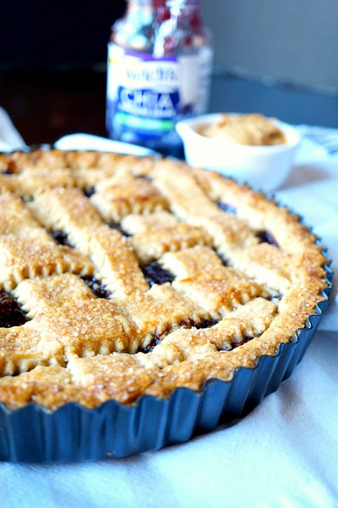 peanut butter & jelly crostata
