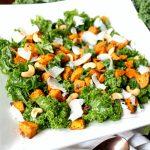 roasted sweet potato kale salad   The Baking Fairy