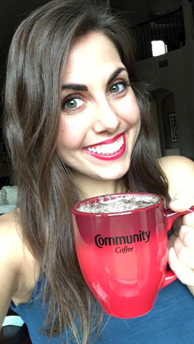 almond milk mocha with Community Coffee   The Baking Fairy #ShowYourMug #ad