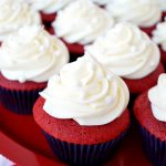 red velvet cupcakes with cream cheese frosting | The Baking Fairy