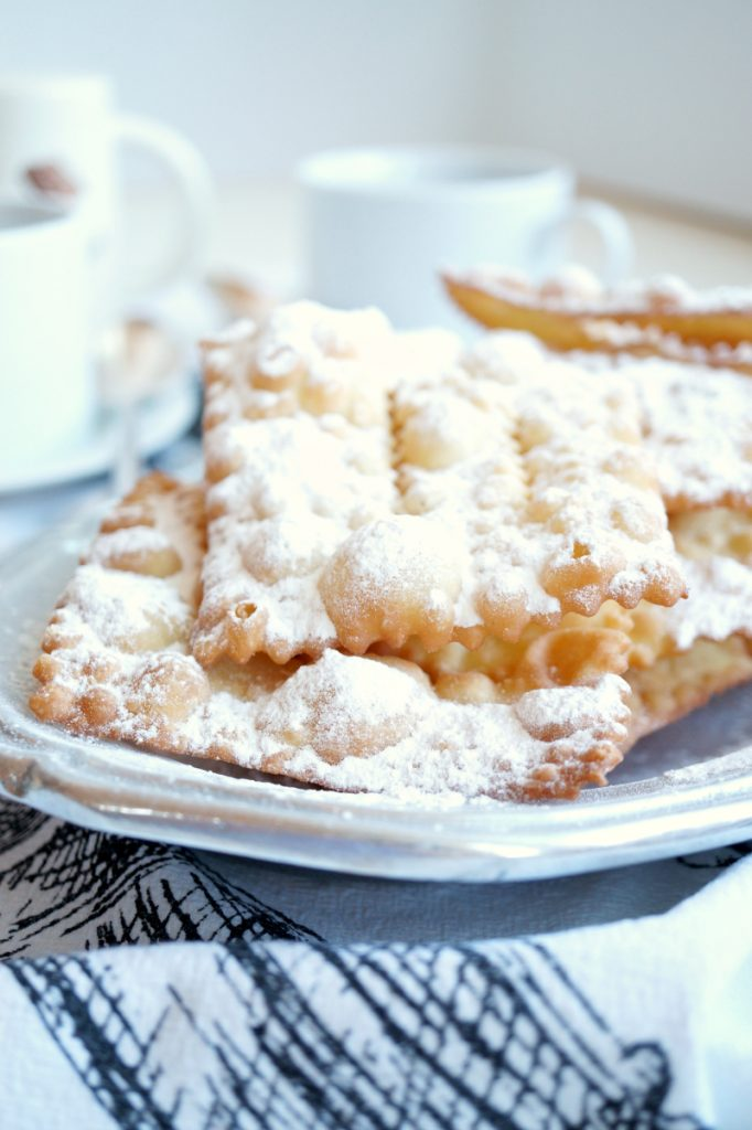 chiacchiere {fried Italian pastries} | The Baking Fairy