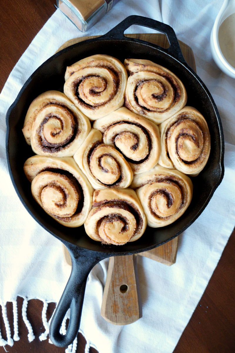 the only cinnamon rolls you'll ever need | The Baking Fairy