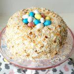 easter nest italian cream cake   The Baking Fairy