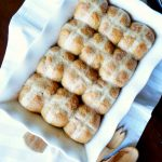 chai spiced hot cross buns   The Baking Fairy