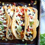 vegan sofritas tacos with cilantro lime cashew cream | The Baking Fairy