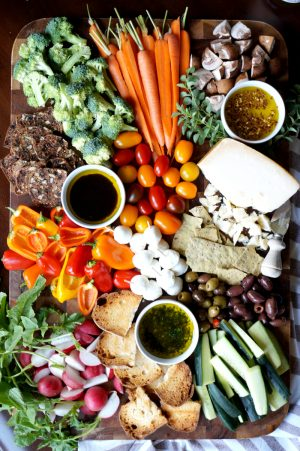 pinzimonio {Italian-style veggie tray} | The Baking Fairy