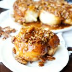 brown sugar pecan sticky buns | The Baking Fairy