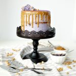 peanut butter & jelly layer cake | The Baking Fairy
