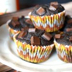 2-ingredient pumpkin brownies | The Baking Fairy