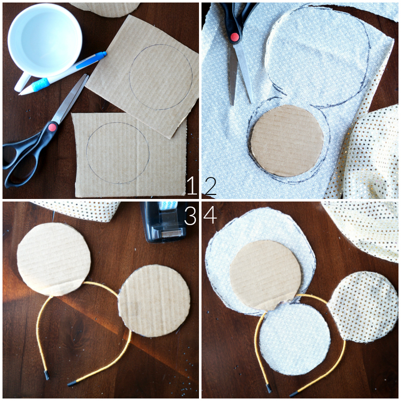 Disney princess-inspired Minnie Mouse Ears   The Baking Fairy