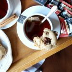 soft pecan praline cookies | The Baking Fairy #TeaProudly #ad