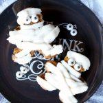 pumpkin chocolate chip mummies | The Baking Fairy