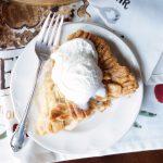 grandma's creamy apple pie | The Baking Fairy