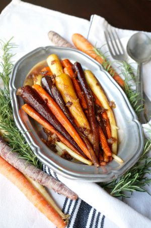 stovetop rainbow carrots with caramelized onions   The Baking Fairy
