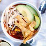 vegan chorizo taco chili | The Baking Fairy