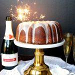 sparkling champagne bundt cake | The Baking Fairy